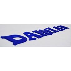 3D Letters 7 cm
